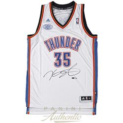 5217c3ca87a Kevin Durant Signed Thunder Jersey With 2013-14 MVP Patch (Panini COA)