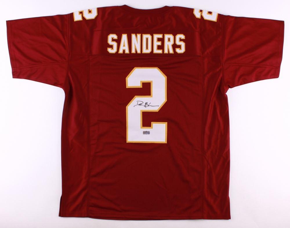 san francisco 7fc26 fba01 Deion Sanders Redskins Jersey (Radtke COA)