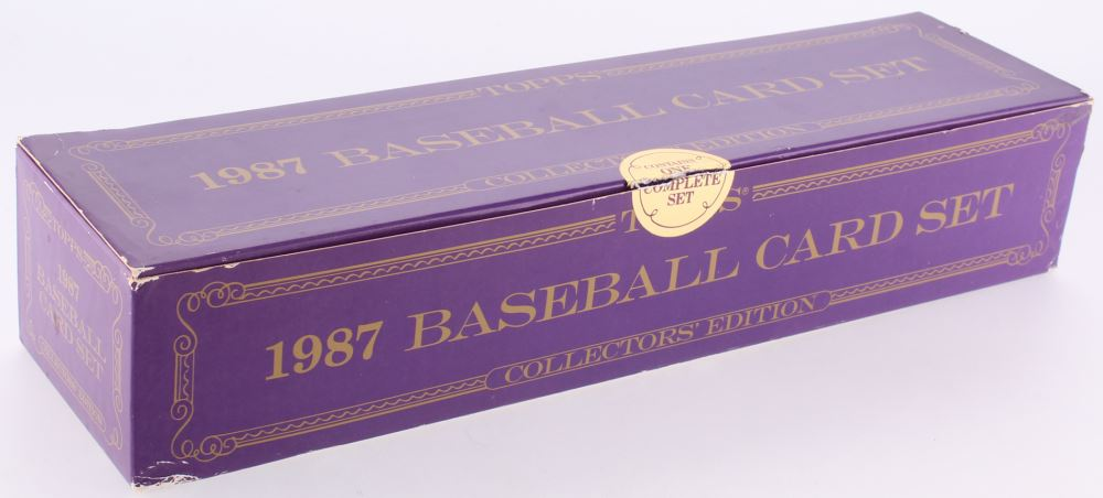1987 Topps Tiffany Complete Set Of 792 Baseball Cards With