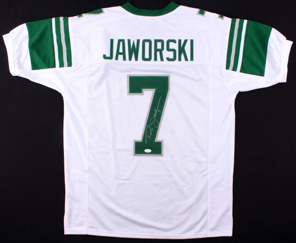 reputable site cd0b5 2e1ec Ron Jaworski Signed Eagles Throwback Jersey (JSA COA)
