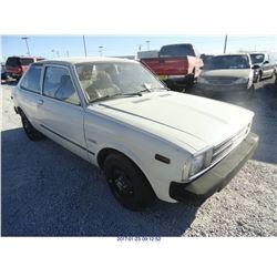 1980 - TOYOTA TERCEL
