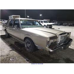 1987 - LINCOLN TOWN CAR