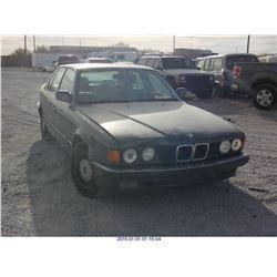 1989 - BMW 7-SERIES