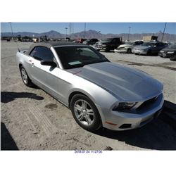 2011 - FORD MUSTANG