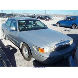 1998 - MERCURY GRAND MARQUIS//SALVAGE TITLE