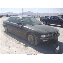 1998 - BMW 740IL // BONDED TITLE