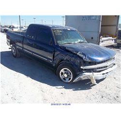 2002 - CHEVROLET SILVERADO 1500