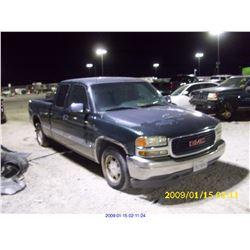 2001 - GMC SIERRA 1500