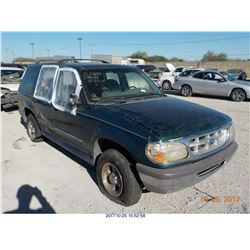 1997 - FORD EXPLORER // BONDED TITLE // PARTS ONLY