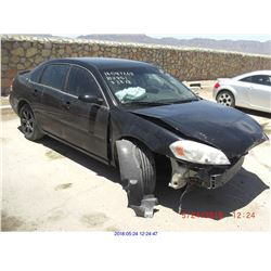 2007 - CHEVROLET IMPALA // SALVAGE TITLE