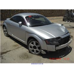 2000 - AUDI TT // REBUILT SALVAGE // EXPORT