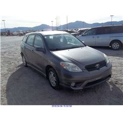 2007 - TOYOTA MATRIX