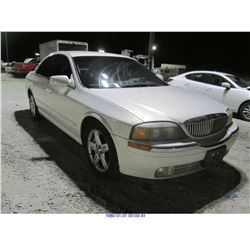 2001 - LINCOLN LS // SALVAGE TITLE