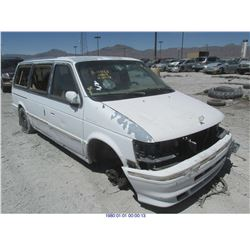1993 - CHRYSLER TOWN AND COUNTRY