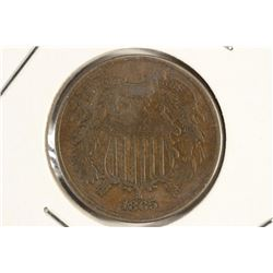 1865 US TWO CENT PIECE