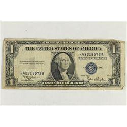 1935-C $1 SILVER CERTIFICATE STAR NOTE