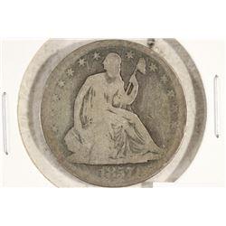 1857 SEATED LIBERTY HALF DOLLAR