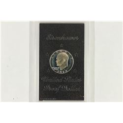 1974-S IKE SILVER DOLLAR PROOF (BROWN PACK) NO BOX