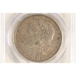 1878 7TF MORGAN SILVER DOLLAR R78 VAM-198