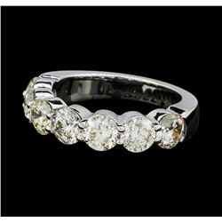 2.82 ctw Diamond Ring - 14KT White Gold