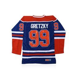 PSA Certified Wayne Gretzky Autographed Hockey Jersey