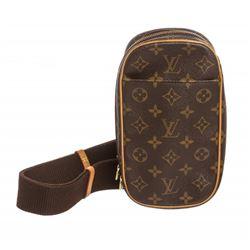 Louis Vuitton Monogram Canvas Leather Gange Crossbody Bag