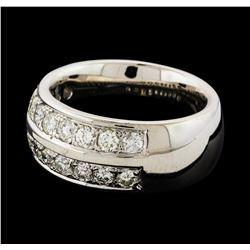 1.70 ctw Diamond Ring - 14KT White Gold
