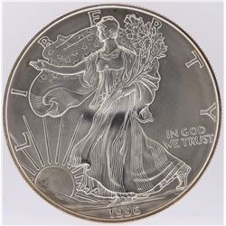 1996 American Silver Eagle Dollar Coin