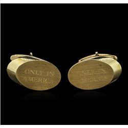 14KT Yellow Gold Cufflinks