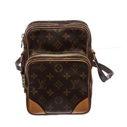 Louis Vuitton Monogram Canvas Leather Amazon Crossbody Bag