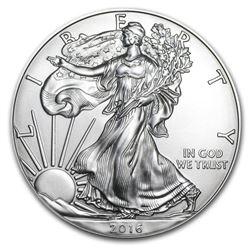 2016 Walking Liberty Silver Dollar Coin
