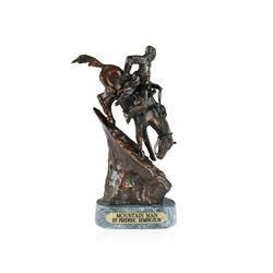 Mountain Man Bronze Replica By Frederic Remington