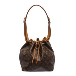 Louis Vuitton Monogram Canvas Leather Noe PM Drawstring Shoulder Bag