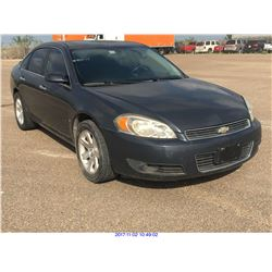 2008 - CHEVROLET IMPALA//TEXAS REGISTRATION ONLY//REBUILT SALVAGE