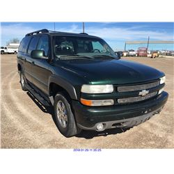 2001 - CHEVROLET SUBURBAN//TEXAS REGISTRATION ONLY