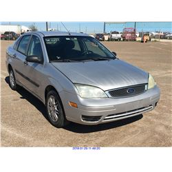 2006 - FORD FOCUS//TEXAS REGISTRATION ONLY//REBUILT SALVAGE