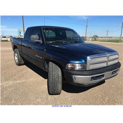 2001 - DODGE RAM//TEXAS REGISTRATION ONLY