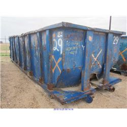 WASTEQUIP 30 YD ROLL-OFF DUMPSTER