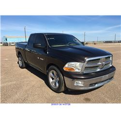 2011 - DODGE RAM1500 // REBUILT SALVAGE