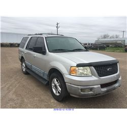 2003 - FORD EXPEDITION//TEXAS REGISTRATION ONLY
