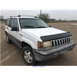 1995 - JEEP GRAND CHEROKEE//TEXAS REGISTRATION ONLY