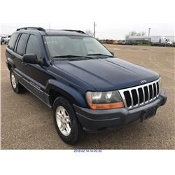2003 - JEEP CHEROKEE//TEXAS REGISTRATION ONLY