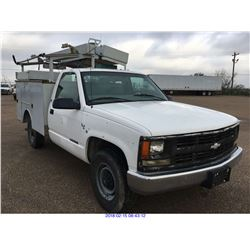 1998 - CHEVROLET 3500//TEXAS REGISTRATION ONLY