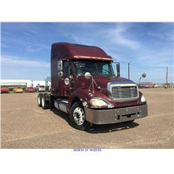 2003 - FREIGHTLINER COLUMBIA//TEXAS REGISTRATION ONLY//BONDED TITLE