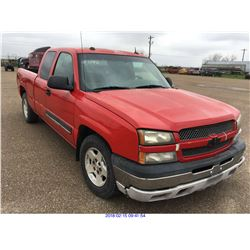 2005 - CHEVROLET SILVERADO//TEXAS REGISTRATION ONLY//REBUILT SALVAGE