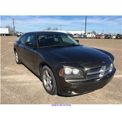 2009 - DODGE CHARGER // REBUILT SALVAGE // TEXAS REGISTRATION