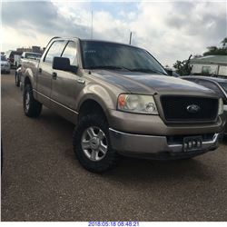 2004 - FORD F150 // TEXAS REGISTRATION