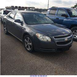 2008 - CHEVROLET MALIBU // TEXAS REGISTRATION