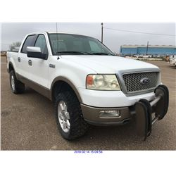 2004 - FORD F-150 4X4 // TEXAS REGISTRATION