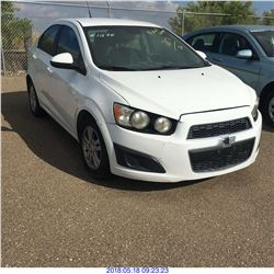 2012 - CHEVROLET SONIC // REBUILT SALVAGE // TEXAS REGISTRATION